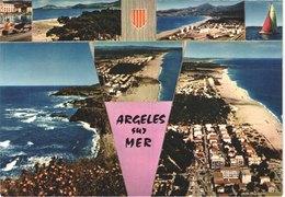 FR66 ARGELES SUR MER LE RACOU - CPM 10 * 15 - Multivues - Animée - Belle - France
