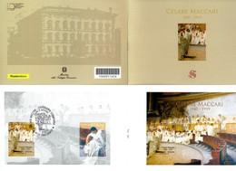 2019 Italia, Libretto Maccari Con Annullo Ufficiale (scansione Parziale Per La Lunghezza Del Libretto) - 1946-.. République