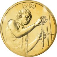 Monnaie, West African States, 25 Francs, 1980, ESSAI, FDC, Aluminum-Bronze - Centrafricaine (République)