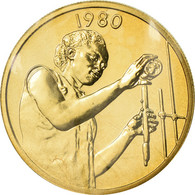 Monnaie, West African States, 25 Francs, 1980, ESSAI, FDC, Aluminum-Bronze - Repubblica Centroafricana
