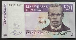 MI0514 - Malawi 20 Kwacha Banknote 2009 UNC - Malawi