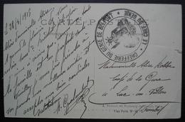 Belfort Chefferie Du Génie, Sur CPA De Steinbach L'Alsace Reconquise - Postmark Collection (Covers)