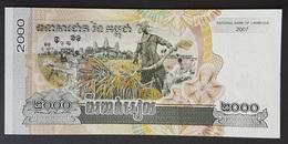 MI0514 - Cambodia 2000 Riels Banknote 2007 UNC - Cambodia