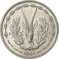 Monnaie, West African States, Franc, 1964, Paris, SPL, Aluminium, KM:3.1 - Monedas