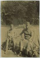 Tirage Citrate Circa 1900. Visite Des Congolais à Saint-Nicolas. Congo Belge. Belgique. Afrique. Africa. Sint Niklaas. - Photos