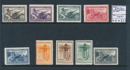 SPAIN YVERT 644/652 LH - 1931-Heute: 2. Rep. - ... Juan Carlos I