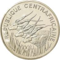 Monnaie, République Centrafricaine, 100 Francs, 1975, ESSAI, FDC, Nickel, KM:E4 - Monedas