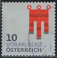 Autriche 2018 Yv. N°3228 - Armoiries De Vorarlberg - Oblitéré - 2011-... Gebraucht