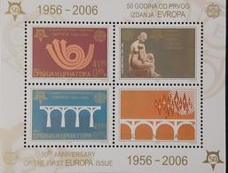 Serbia & Montenegro  Europa-CEPT 2006 Mi S/S MNH/** - Europa-CEPT