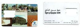 Tunisia - Tunisie - SIM Card- Tunisie Telecom- Desert- Colosseum- Camels- Used- Excellent - Tunisie