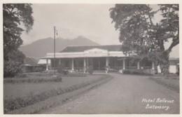 Buitenzorg Indonesia, Netherland Indies Colony Era, Hotel Bellevue, C1920s/30s Vintage Real Photo Postcard - Indonesië