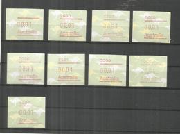 AUSTRALIA ATM - Frankeervignetten (ATM/Frama)