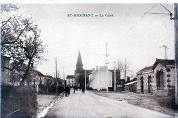 87 - SAINT BARBANT - La Gare - Andere Gemeenten