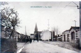 87 - SAINT BARBANT - La Gare - Frankrijk