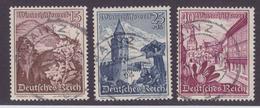 DR MiNr. 681-683 Gest. - WHW-Endwerte Mit Tagesstempel Mainz - Gebraucht