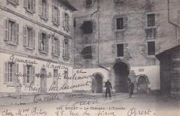 BREST : (29) Le Château. L'Ebtrée - Brest