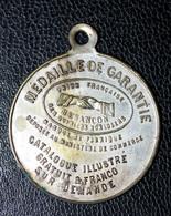 """Jeton à Bélière """"Médaille De Garantie - Union Française Des Ouvriers Horlogers à Besançon"""" - Notgeld"""