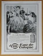 1928 Eau De Cologne 4711 Il Y A Plus D'un Siècle - Stetson Sools Maître Chapelier D'après A.M. Cassandre - Publicité - Publicités