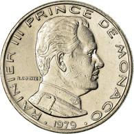 Monnaie, Monaco, Rainier III, Franc, 1979, TTB, Nickel, KM:140 - 1960-2001 Nouveaux Francs