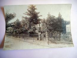 PHOTO ALBUMINE DEBUT 20 EME BAGNOLES DE L' ORNE VILLA SAINT FRANCOIS Format 12 / 18.5 CMS PAPIER MINCE - Old (before 1900)