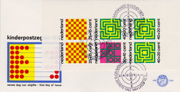 Nederland FDC 1973  Nr 129A CW 70.00  Open Klep - FDC
