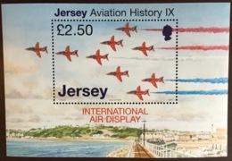 Jersey 2007 Air Display Aviation Aircraft Minisheet MNH - Jersey