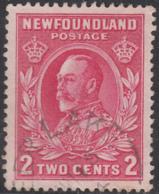 Newfoundland 1932-37 Used Sc #185 Deer Lake, Newf'd Split Circle - Newfoundland