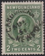 Newfoundland 1932-37 Used Sc #186 Carbonear, Newf'd AU ? 3? Split Circle - 1908-1947