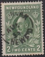 Newfoundland 1932-37 Used Sc #186 Carbonear, Newf'd AU ? 33 Split Circle - 1908-1947