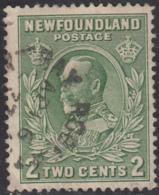 Newfoundland 1932-37 Used Sc #186 Bay Roberts, Newf'd AP 16 37 Split Circle - 1908-1947