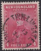 Newfoundland 1932-37 Used Sc #189 Twillingate, Newf'd ? 13 34 Split Circle - 1908-1947