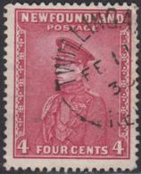 Newfoundland 1932-37 Used Sc #189 Twillingate, Newf'd FE 11 3? Split Circle - 1908-1947