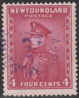 Newfoundland 1932-37 Used Sc #189 Musgravetown, Newf'd JU ? 34 Split Circle - 1908-1947