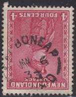 Newfoundland 1932-37 Used Sc #189 Carbonear, Newf'd JAN 6 33 Split Circle - 1908-1947