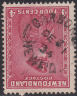 Newfoundland 1932-37 Used Sc #189 Carbonear, Newf'd DE 31 34 Split Circle - 1908-1947