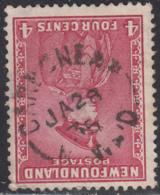 Newfoundland 1932-37 Used Sc #189 Carbonear, Newf'd JA 28 3? Split Circle - 1908-1947