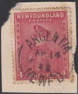 Newfoundland 1932-37 Used Sc #189 Argentia, Newf'd Ap 14 42 Split Circle - 1908-1947