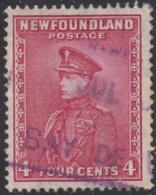 Newfoundland 1932-37 Used Sc #189 Bay De Verte, Newf'd JUL ? ? Box Cancel - 1908-1947