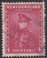 Newfoundland 1932-37 Used Sc #189 Bay De Verte, Newf'd JAN ? ? Box Cancel - 1908-1947