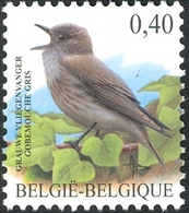 Belgium 2004 MiNr. 3317  Belgien Birds Buzin Spotted Flycatcher 1v  MNH** 0.70 € - Ongebruikt