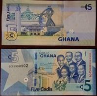Ghana - 5 Cedis 2019 XF Lemberg-Zp - Ghana