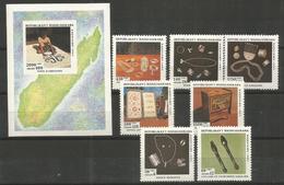 MADAGASCAR - MNH - Art - Cultures - 1993 - Arts