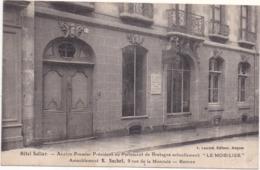 """Dépt 35 - RENNES - Hôtel Sollier - """"Le MOBILIER"""", Ameublement R. SUCHET, 9 Rue De La Monnaie - Rennes"""