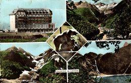 """16535      ENVIRONS DE  LUCHON  HOTEL DE """"VALLEE DU LYS""""  GLACIER DES CRABIOULES DIVERSES VUES - Luchon"""