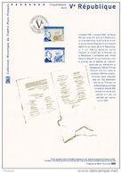 """"""" DE GAULLE / Vème REPUBLIQUE """"  Sur Doc Philateliq Officiel De 2008. N° YT 4282 Parfait état. Prix à La Poste = 5 € DPO - De Gaulle (Général)"""
