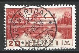 SBK 211, Mi 321 O Vorderthal, Blindzahn - Used Stamps