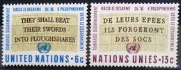 NATIONS-UNIS  NEW YORK                   N° 172/173                      NEUF** - Ungebraucht