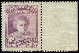 1897. Victoria COMMEMORATIVE STAMP DIAMOND JUBILEE. 2 D. Never Hinged. () - JF360955 - 1840-1901 (Viktoria)