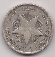 CUBA - 1 PESO DE PLATA DE 1934 - Kuba