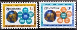 NATIONS-UNIS  NEW YORK                   N° 175/176                      NEUF** - Ungebraucht